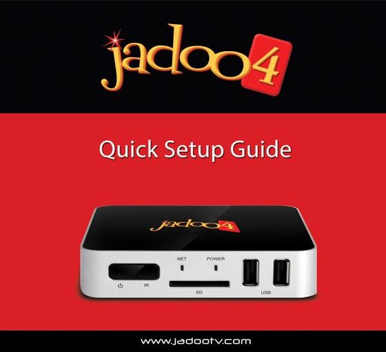 Jadoo4 Setup front