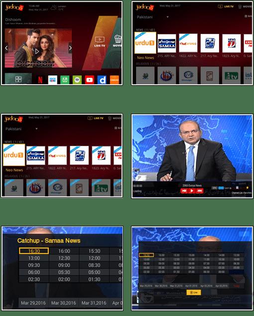 Watch Content on Catch Up TV | JadooTV